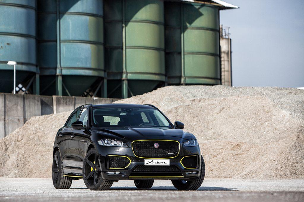 Jaguar F-Pace tuning & exclusive refinement | Arden AJ 25