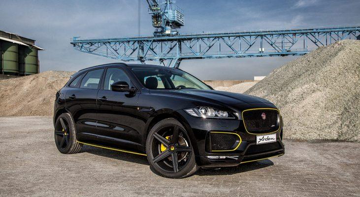 Jaguar F-Pace Exterieur