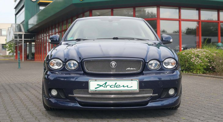 Jaguar-X-Type-power-increase-stainless-steel-front-grille-front-spoiler-leaper-Arden