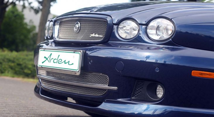 Jaguar-X-Type-stainless-steel-front-grille-front-spoiler-Arden