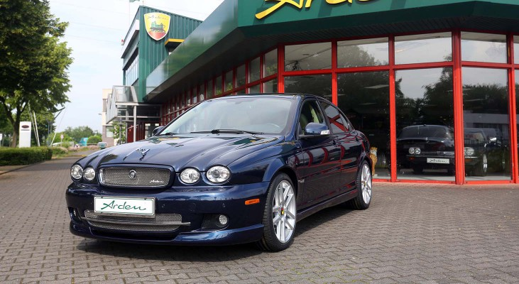 Jaguar-X-Type-stainless-steel-front-grille-front-spoiler-leaper-Arden