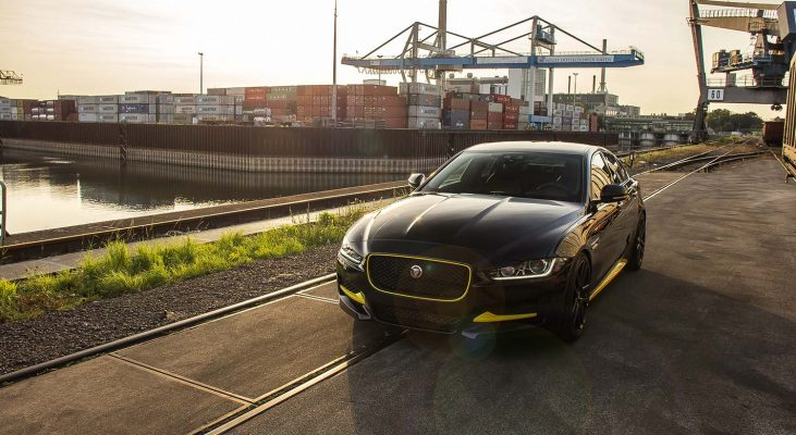 Jaguar-XE-lowering-kit-front-bumper-front-spoiler-Arden