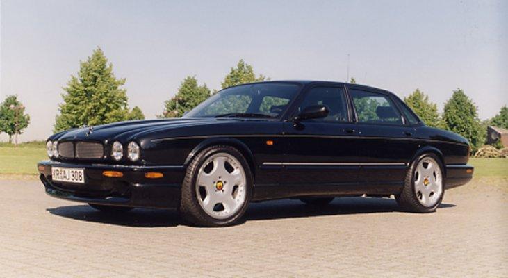 Jaguar-XJ-X300-aerodynamic-front-spoiler-Arden