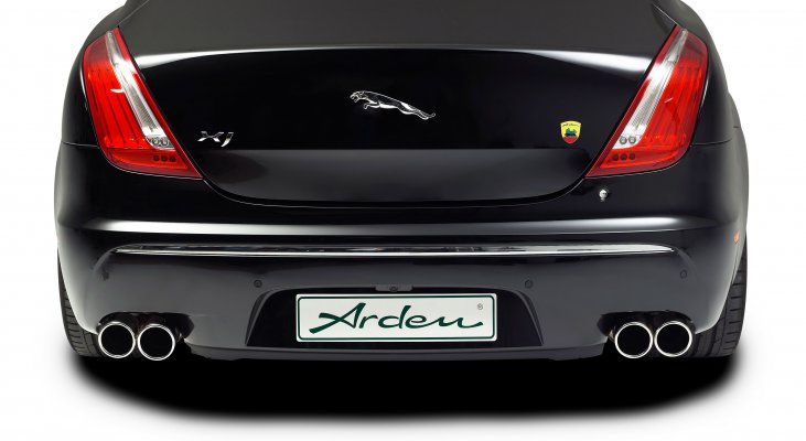 Jaguar-XJ-X351-power-increase-body-kit-rear-silencer-superchared-Arden