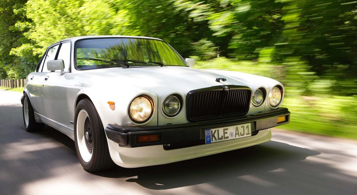 Jaguar-XJ-v12-Daimler-aerodynamik-front-skirt-chrome-platet-parts-body-color-Arden