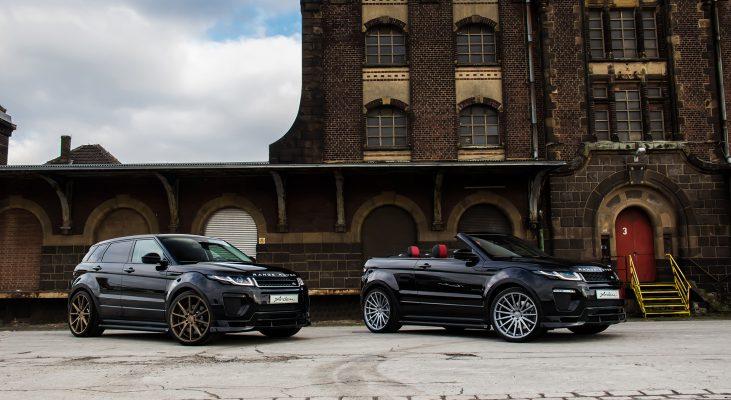 Range-Rover-Evoque-SUV-cabriolet-black-front-apron-wheels-Arden