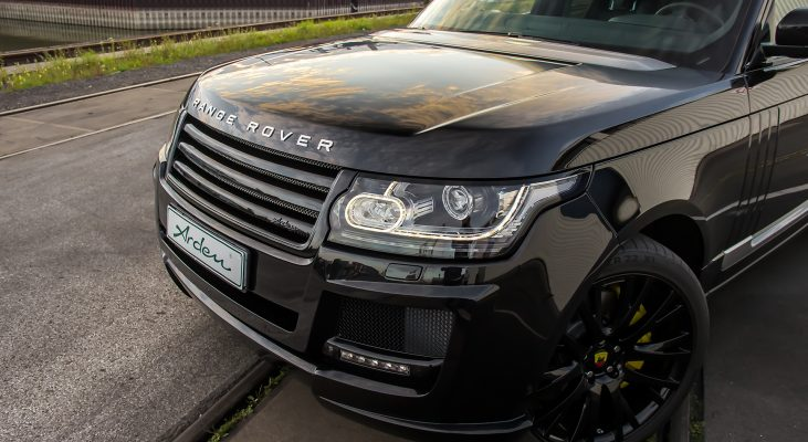 Range-Rover-LG-Black-radiator-grille-lowering-control-Arden