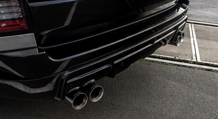 Range Rover LG tuning & exclusive refinement   Arden