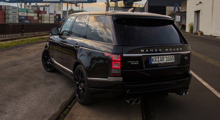 Range-Rover-LG-Black-rear-muffler-sound-system-Arden