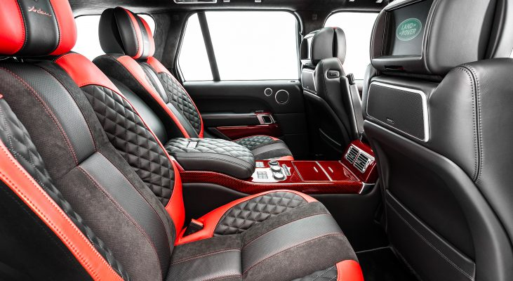 Range-Rover-LG-interior-red-leather-trim-upholstery-backseat