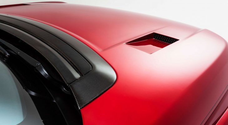 Range-Rover-LG-red-carbon-engine-hood-cover