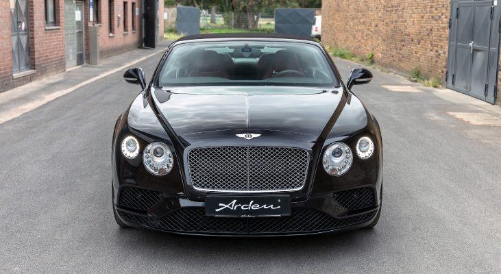 Bentley Continental GT Convertible | Arden | Front